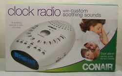 Conair  Clock Radio w.  Custom Soothing Sounds
