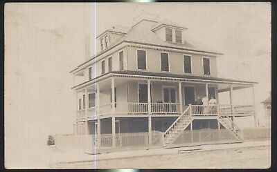 Waterfront Cottage (RP-POSTCARD: HOLLY BEACH NEW JERSEY/NJ  WATERFRONT TOURIST COTTAGE 1907)