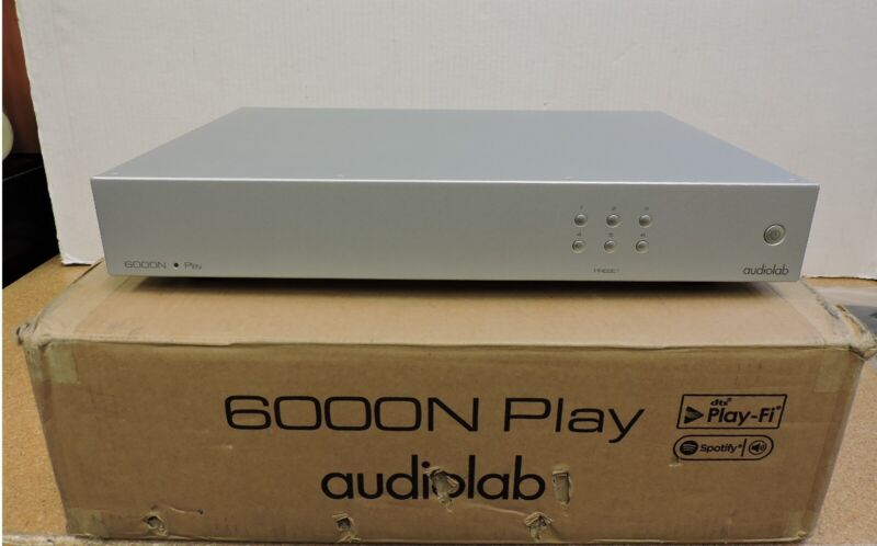 Audiolab 6000N Play Wireless Streaming Player (Silver)