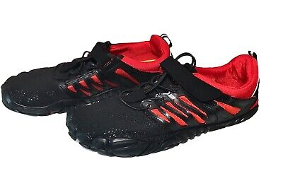 Whitin Shoes Mens Minimalist Barefoot 5 Five Fingers Athletic Sneakers Size 8