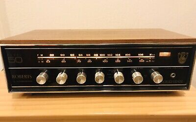 Roberts Rheem Model 50 Stereo Receiver Rare Vintage Piece! Working!