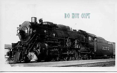 6F204 RP 1940s? AT&SF SANTA FE RAILROAD ENGINE #3272