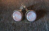 NEUE wunderschöne Vintage Ohrringe Dawanda Etsy silber rosa Dream Niedersachsen - Osnabrück Vorschau