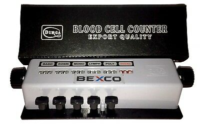 Best Priceblood Cell Counter 5 Keys In Protective Case By Brand Bexcofree Ship