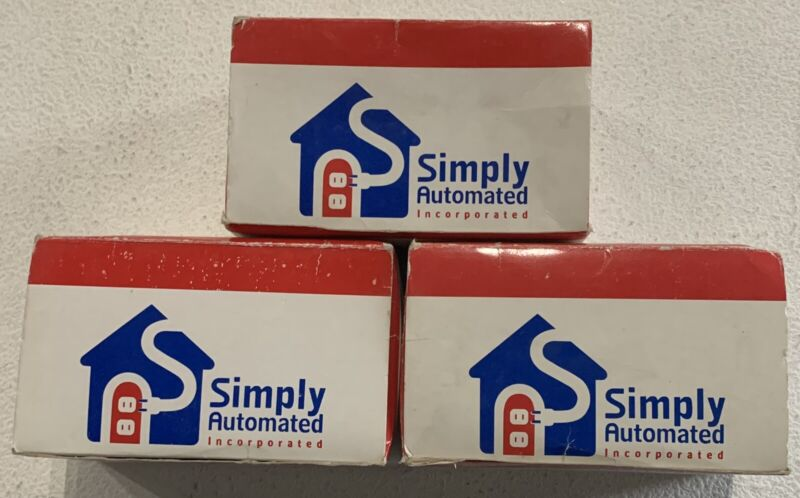 "(3) ""Used"" Simply Automated Automated Power Supply Appliances UMA-20-W"