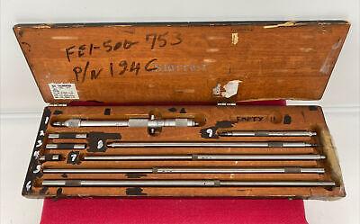 Starrett 124-c Micrometer With Case