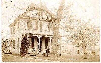 1909 KILMARNOCK VA - RPPC - Bonner Family and Home - Real Photo view