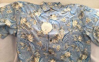*NEW WITH TAGS* Jos. A Bank Hawaiian Shirt XL, Vacation in Paradise