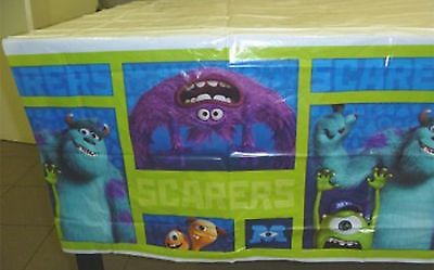 Monsters University Monsters Inc Party Supplies Party Table Cover 1.8mx 1.3m ()