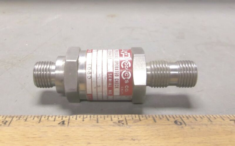 Accessory Products Co. - Pressure Operated Check Valve - P/N 208400