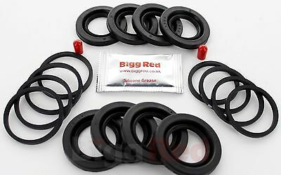 FRONT Brake Caliper Seal Repair Kit axle set for PORSCHE BOXSTER 1997-04 (4021)