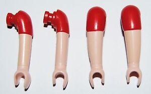14428 Brazo curvo manga corta rojo 4u playmobil,arm