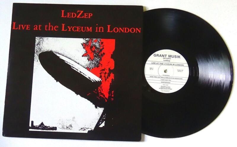 Led Zeppelin Live Lp Ebay