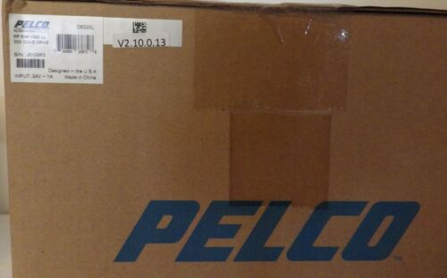 NEW FACTORY SEALED BOX PELCO D6220 SPECTRA ENH 1080P 20X DOME DRIVE CAMERA
