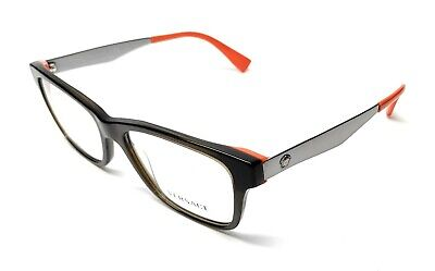 Versace VE3245 5235 Tortoise Men's Authentic Eyeglasses Frame 55-17