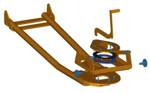 WARN PLOW BASE FOR PLOW SYSTEMS 86528 / 62100