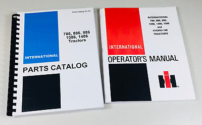 International 786 886 986 1086 1486 Tractor Owner Operator Parts Manual Catalog