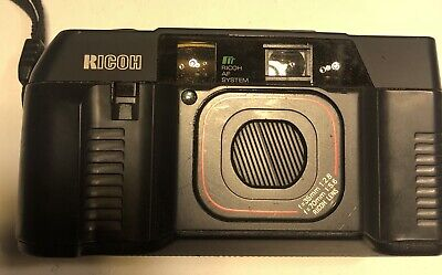 Ricoh TF-500 Point and Shoot Film Camera Used