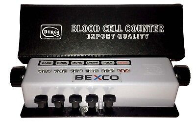 Blood Cell Counter 5 Key In Box 1 Day Dhl Shipping
