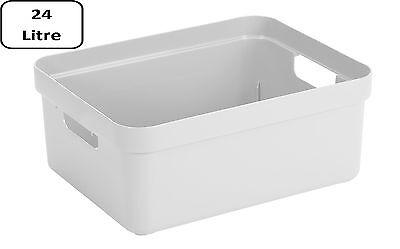 SUNWARE Sigma Home Box 24 Liter ohne Deckel - weiß