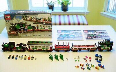 LEGO Train Christmas - Rare - Holiday Train 10173 - Complete w/ Box&Instructions