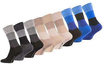 3 oder 6 Paar Herren Casual Socken Business Socken Baumwolle, Vincent Creation®