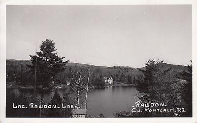 Post Card - Lac. Rawdon / Lake