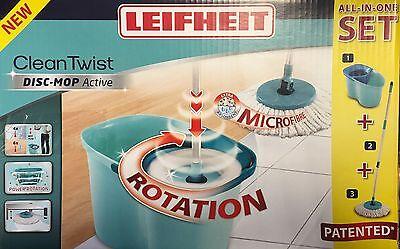 Leifheit Clean Twist Disc Mop active Set Bodenwischer Wischmop 56793