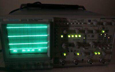 Tektronix 2247a 100mhz Oscilloscope Countertimer Laboratory