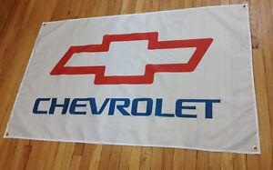 Chevy Garage Man Cave Flag Chevrolet Automotive Shop Banner 5x3FT