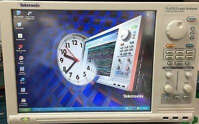 Tektronix Tla7012 Logic Analyzer With Tla7aa4 136ch Without Grabber
