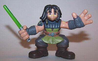 Star Wars Galactic Heroes Quinlan Vos Jedi Knight Imaginext Action Figure