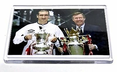 Manchester United Legend Photo Magnet Fergie & Cantona Football Gifts
