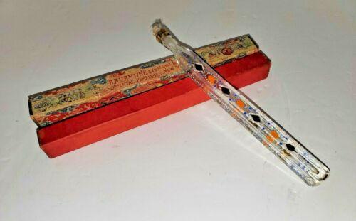 Antique AA Vantine & Co Oriental Perfume Bottle with Glass Stopper Original Box