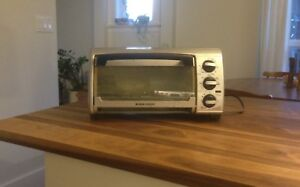 Toaster Oven, Black and Decker