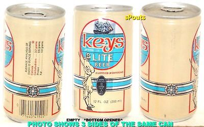 Florida Keys West Pirate Ship Lite Beer Can Pearl San Antonio Texas Sword Island