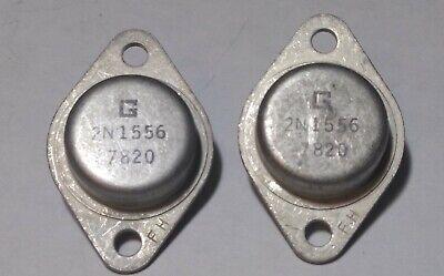 Lot Of 2 2n1556 Pnp Germanium Transistors Nos