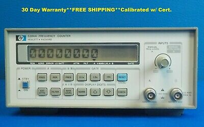 Agilent Keysight Hp 5384a Frequency Counter 001 Extended Measurement Memory 4x