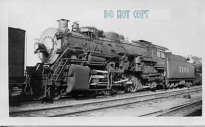 6F211 RP 1940s? AT&SF SANTA FE RAILROAD ENGINE #3190