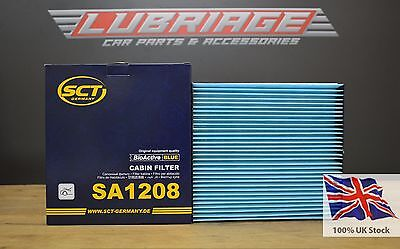 Cabin filter SA1208 for LEXUS CT 200h Made in Germany