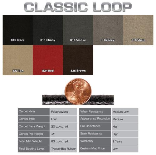 ::Lloyd Carpet 4pc Floor Mats for 1982-1992 Chevrolet Camaro - Choose Color & Logo