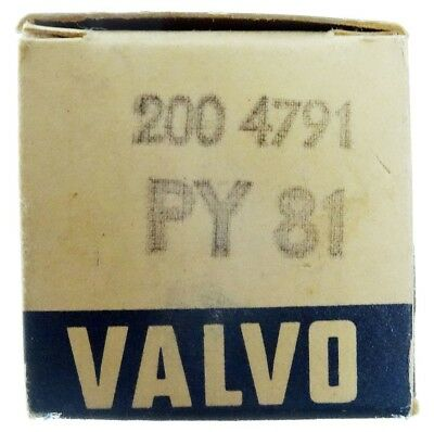 GEPRÜFT: PY81 Radioröhre, Hersteller Valvo. ID16916