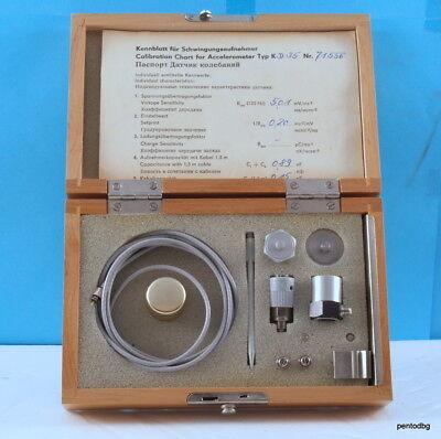 Accelerometerpiezotronics Kd35 Vibration Calibration Kit Nos Mmf Germany