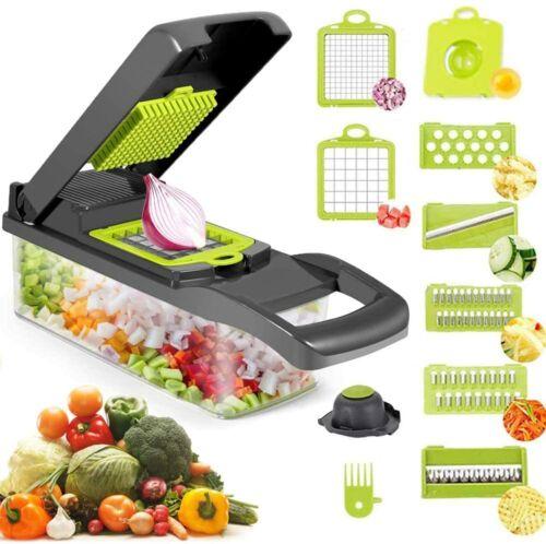 8 in 1  Multifunction Vegetable Chopper Food Fruit Dicer Cut
