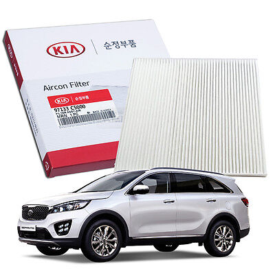 OEM Genuine Parts Cabin Air Filter 97133-C5000 for KIA 2015-2018 Sorento UM