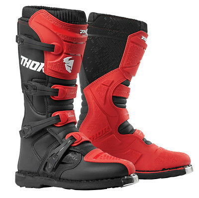 (Thor MX Motocross Men's Blitz XP Boots (Red/Black) Choose Size)