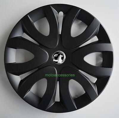 4x16'' Wheel trims Hub caps for Vauxhall Vivaro 16'' new black matt