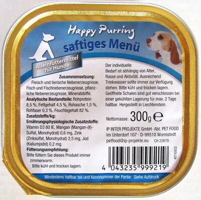 81 x 300g Hundefutter Nassfutter Junior Pastete Rind/Geflügel *versandfrei*