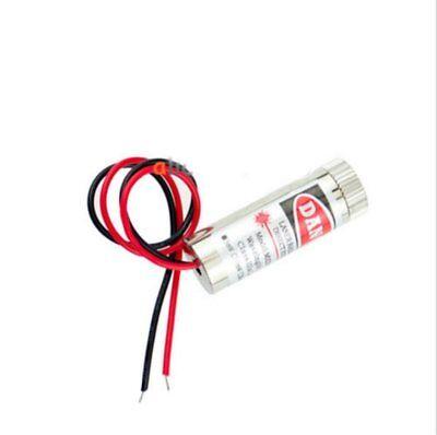 3-5v 5mw Adjustable Red Laser Module Focus Stripe Lens Laser Head