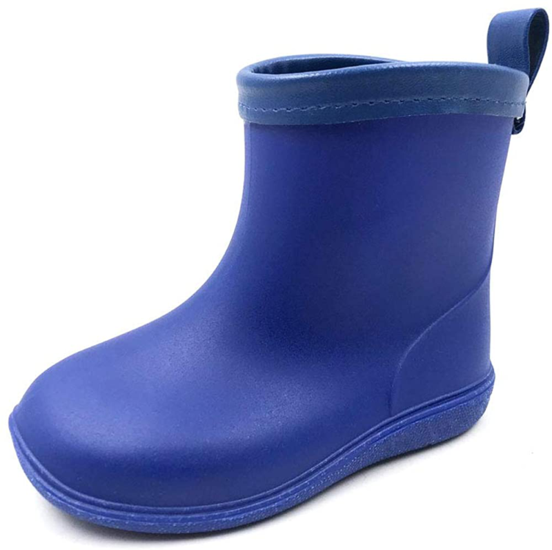 Amoji Baby Kids Easy On Rain Shoes Boots for Toddler Little